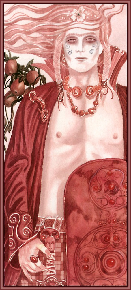 Ян Дэниэлс. 01-Король с красным щитом