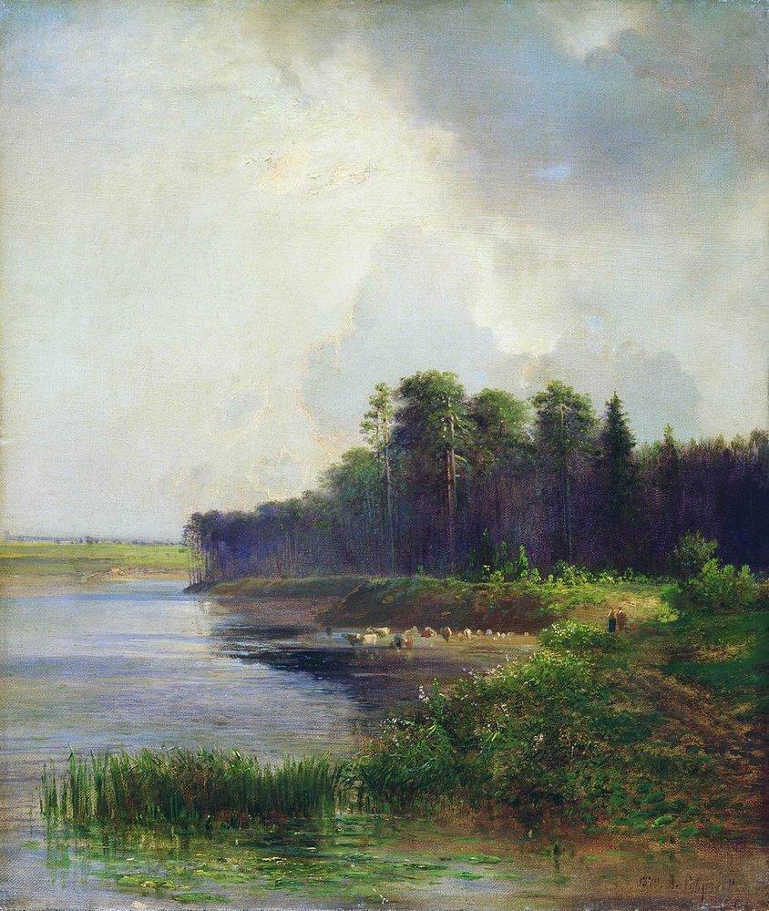 Алексей Кондратьевич Саврасов. Берег реки