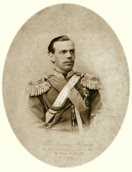 Алексей Петрович Боголюбов. Фотографический портрет Александра Александровича