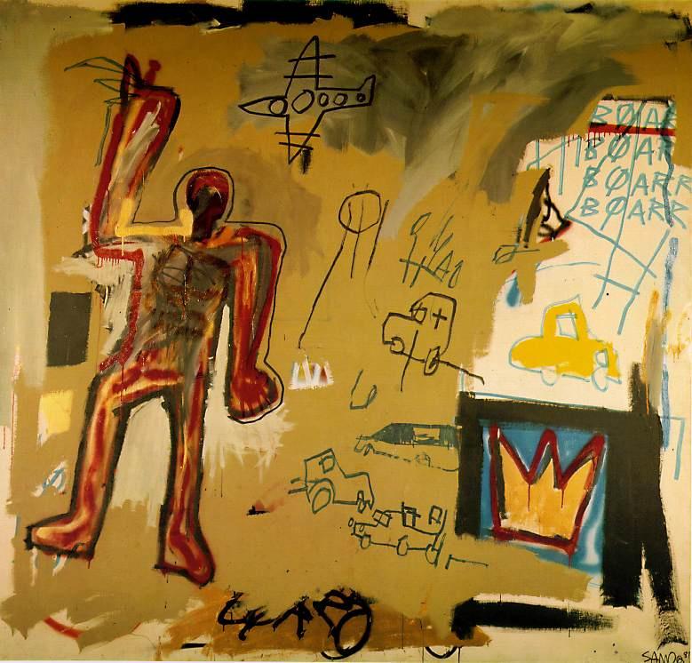 Жан-Мишель Баския. Красный человек