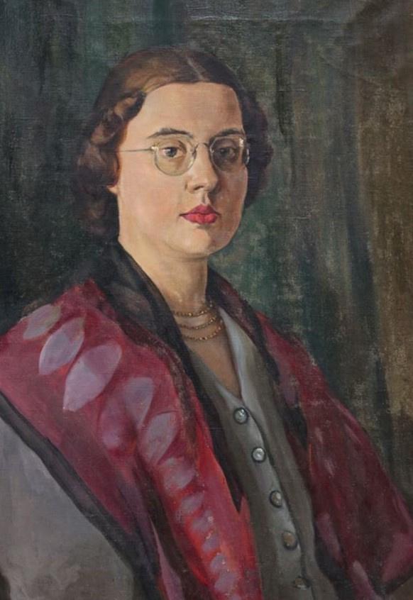 Ivan Ivanovich Zakharov. Female portrait. Afonina O. E.