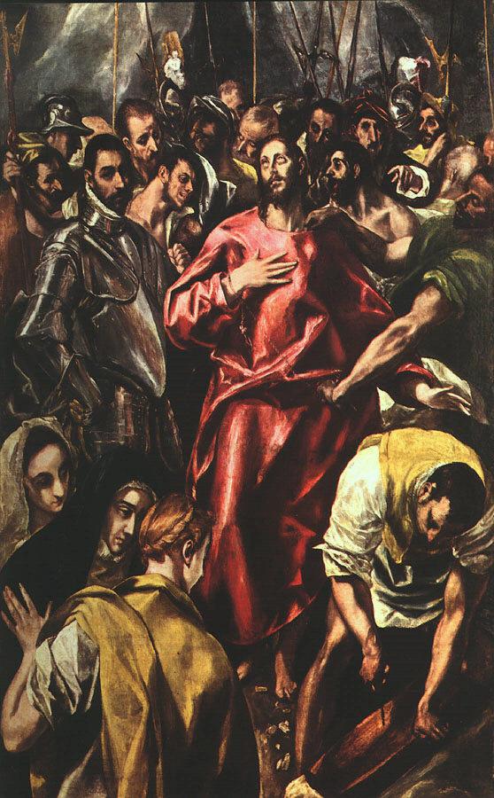 Domenico Theotokopoulos (El Greco). The Disrobing of Christ