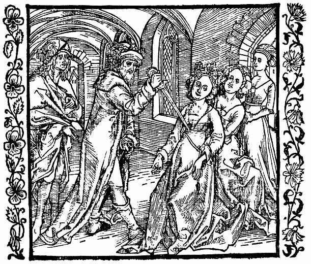 Альбрехт Дюрер. Ирод закалывает свою жену