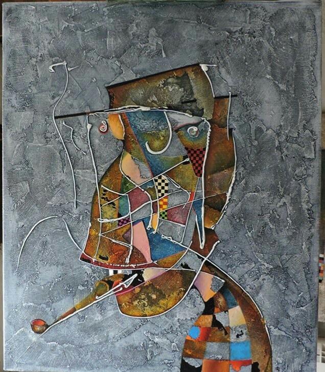 Sergey Alexandrovich Lepeshkin. Smoker
