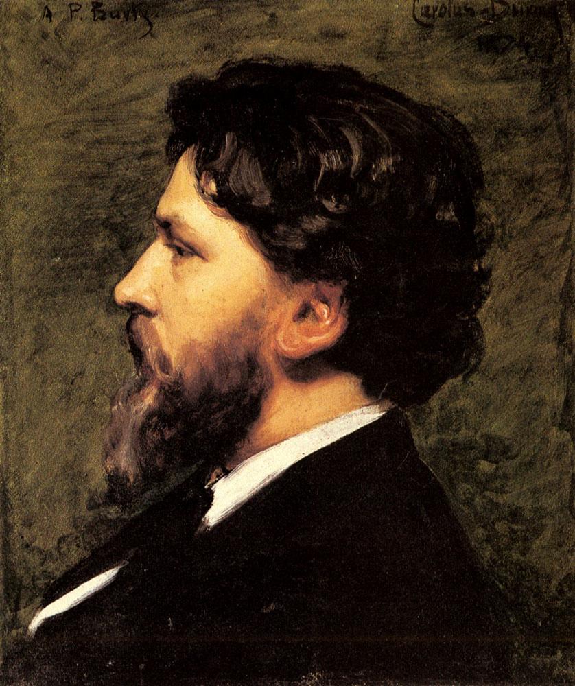 Carolus-Durand. The profile of a man