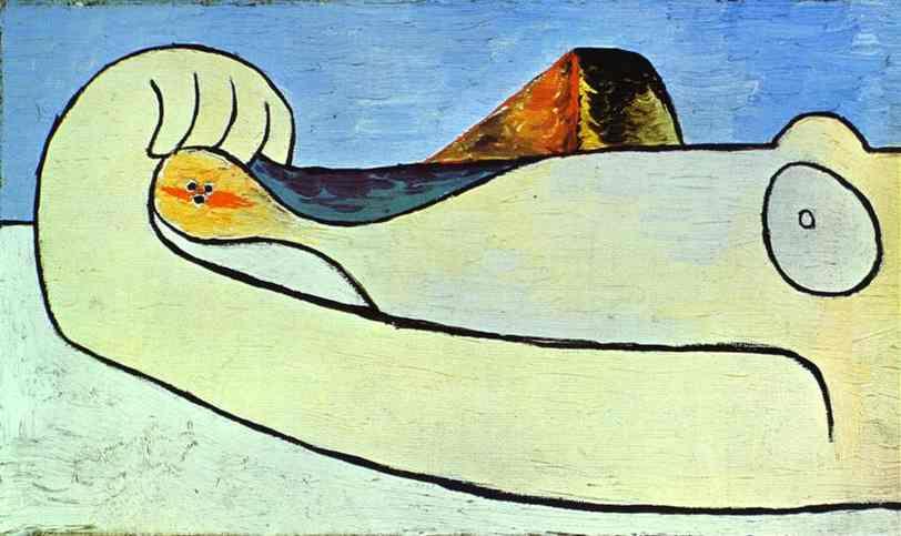 Пабло Пикассо. Девушка, бросающая камень