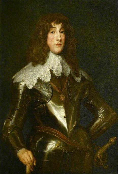 Anthony van Dyck. Prince Rupert (or perhaps Prince Maurice of the Rhine)