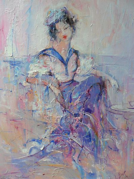 Larisa Baranova. By the sea