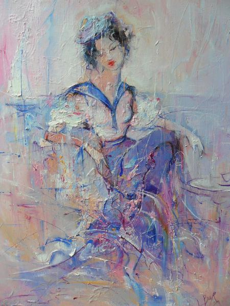 Larisa Olegovna Baranova. By the sea