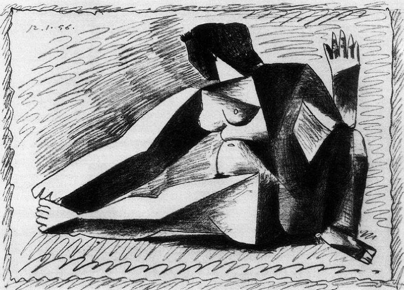Пабло Пикассо. Сюжет 126