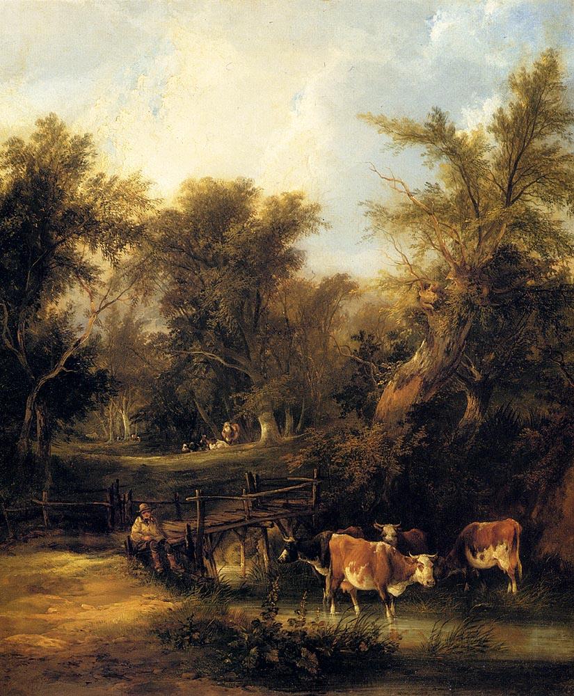 Уильям Шайер. Коровы
