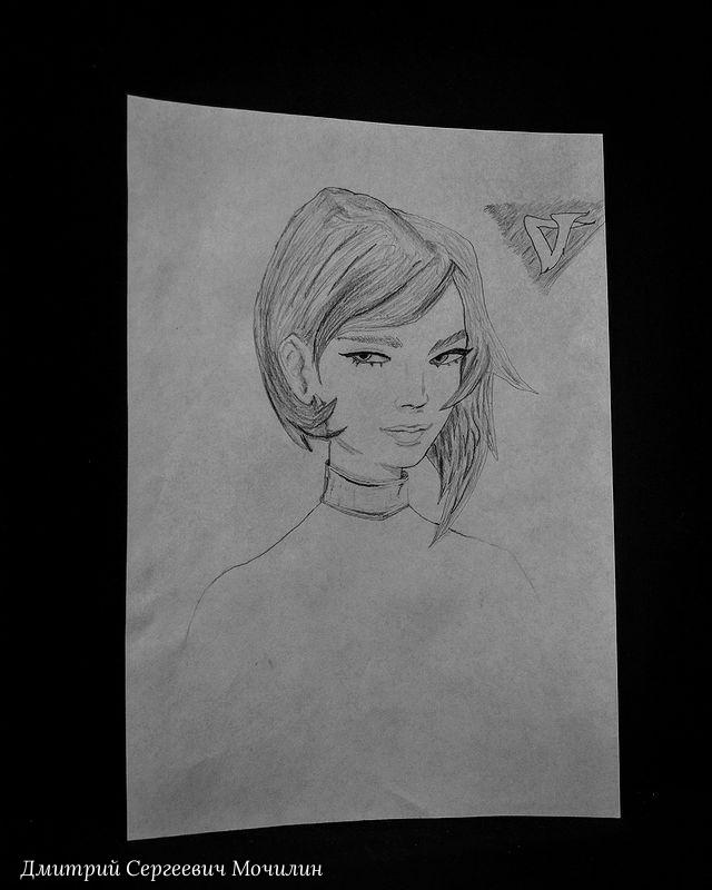 Dmitry Mochilin. Pencil drawing