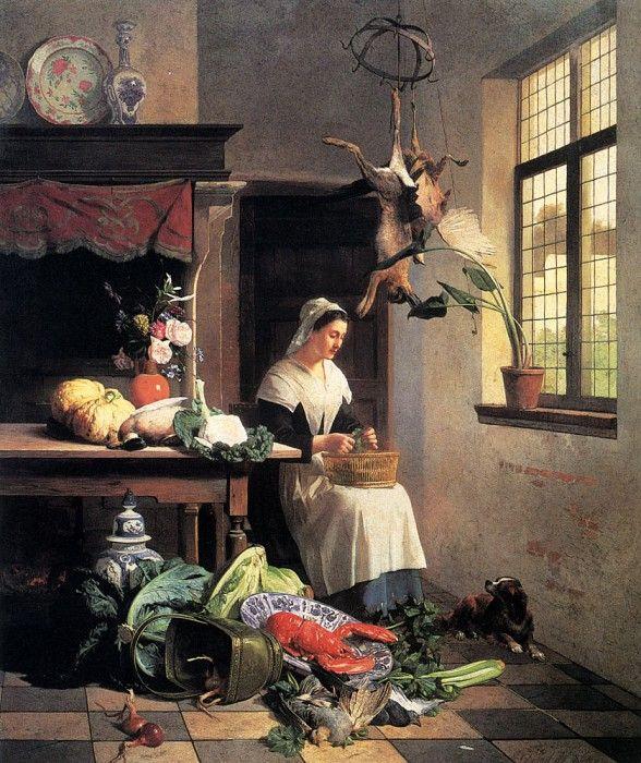 Служанку на кухне скачать фото 391-717