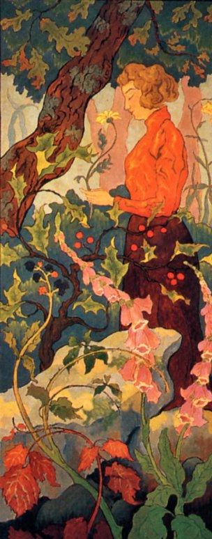 Поль Рансон. Девушка в оранжевом