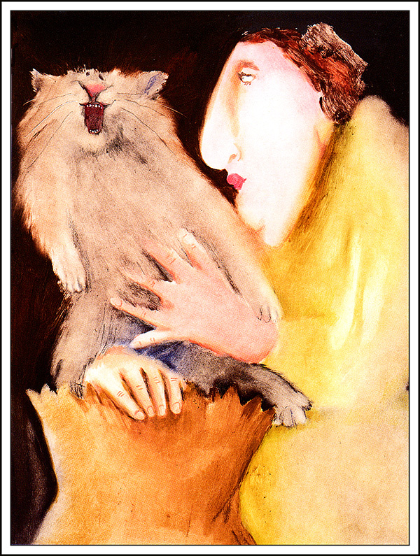 Erika Oller. The cat in the bag