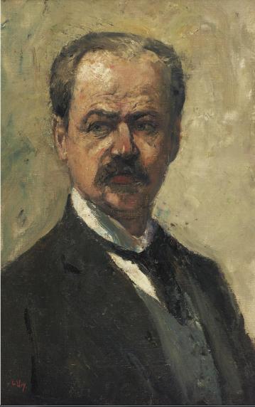Lesser Ury. Portrait