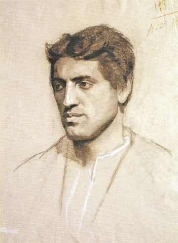 Мария Константиновна Башкирцева. Голова мужчины