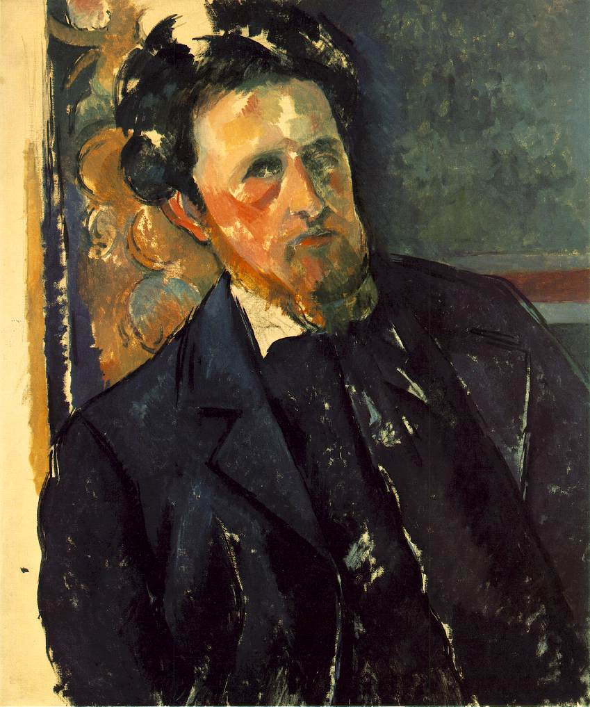 Paul Cezanne. Portrait Of Joachim Gasquet