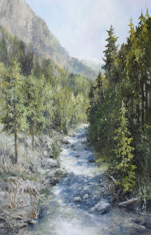 Сергей Владимирович Дорофеев. Teberda river