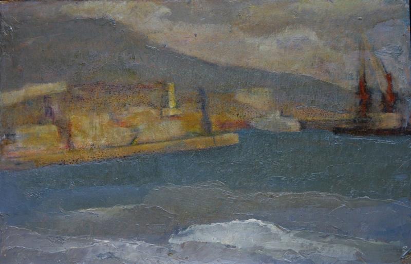 Vyacheslav Dmitrievich Karelin. Yalta. Port