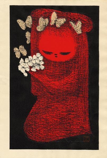 Каору Кавано. Белые цветы