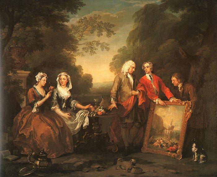 William Hogarth. Family Fontane