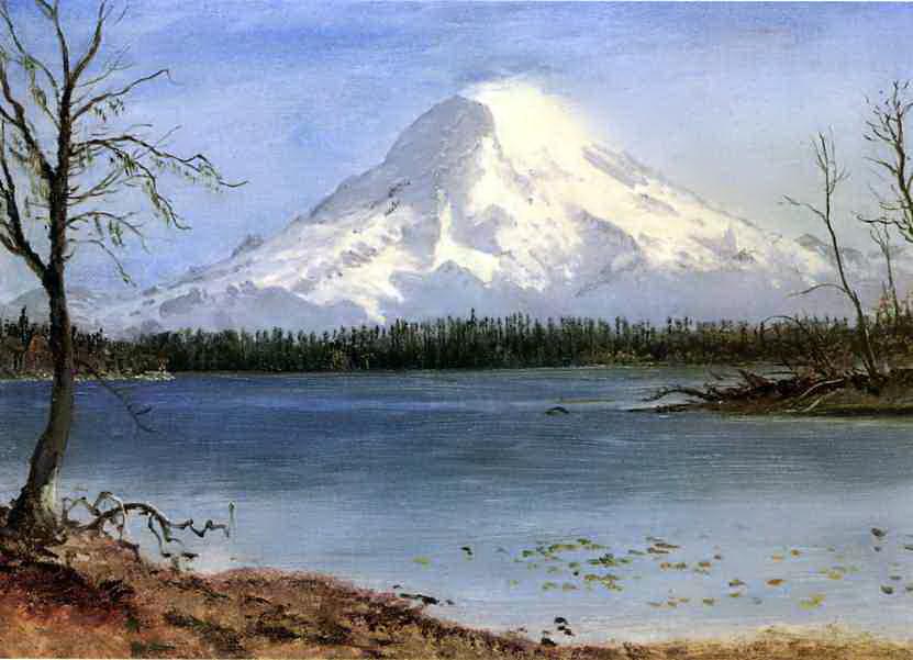 Альберт Бирштадт. Озеро в Скалистых горах