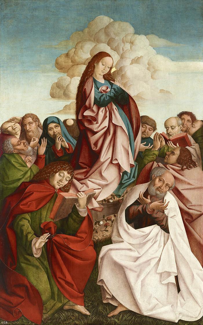 Рюланд Фрюауф Старший. Вознесение Девы Марии