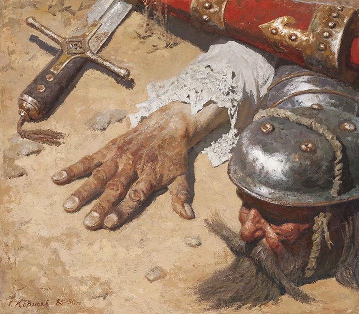 Heliy Mikhailovich Korzhev. Don Quixote