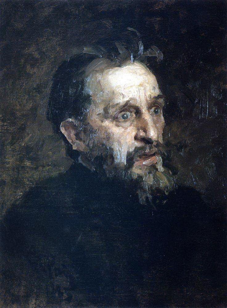 Илья Ефимович Репин. Мужская голова