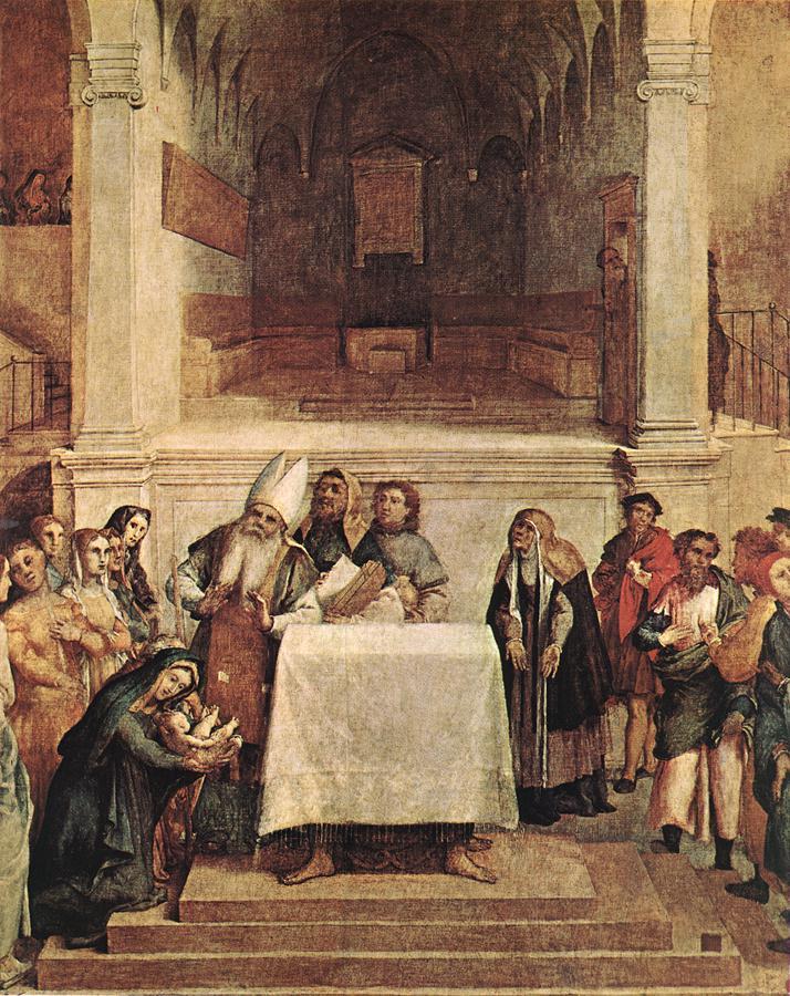 Лоренцо Лотто. Введение в храм
