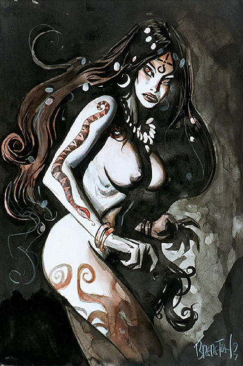 Даниэль Бреретон. Женщина вампир