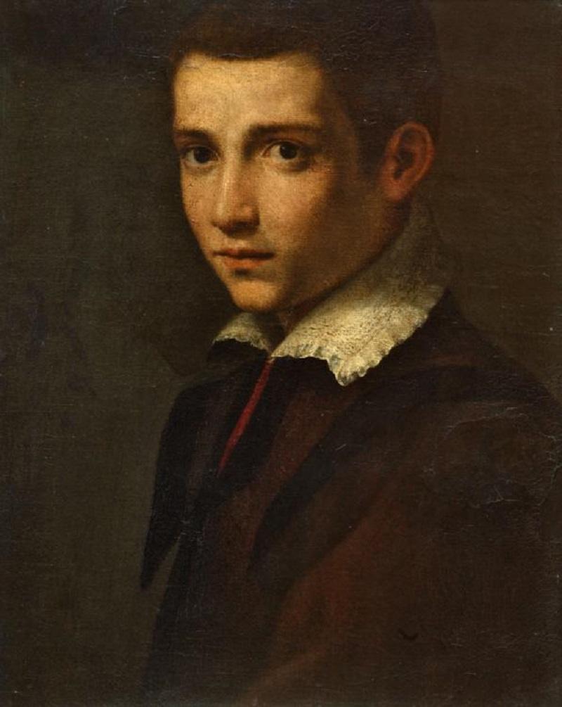 Кристофано Аллори. Портрет мальчика
