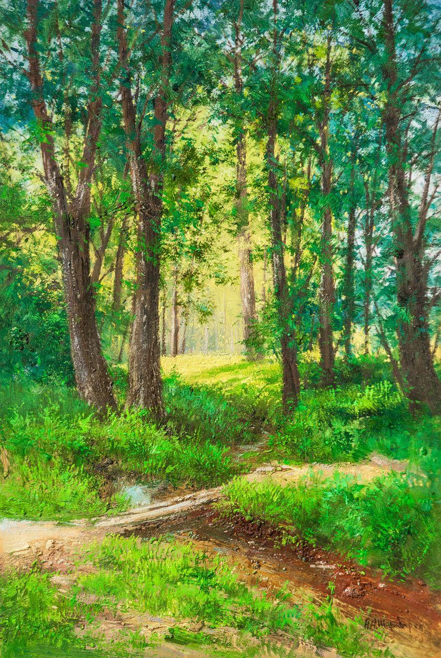 Andrey Sharabarin. Forest walk