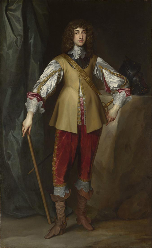 Anthony van Dyck. Rupert, elector of the Palatinate