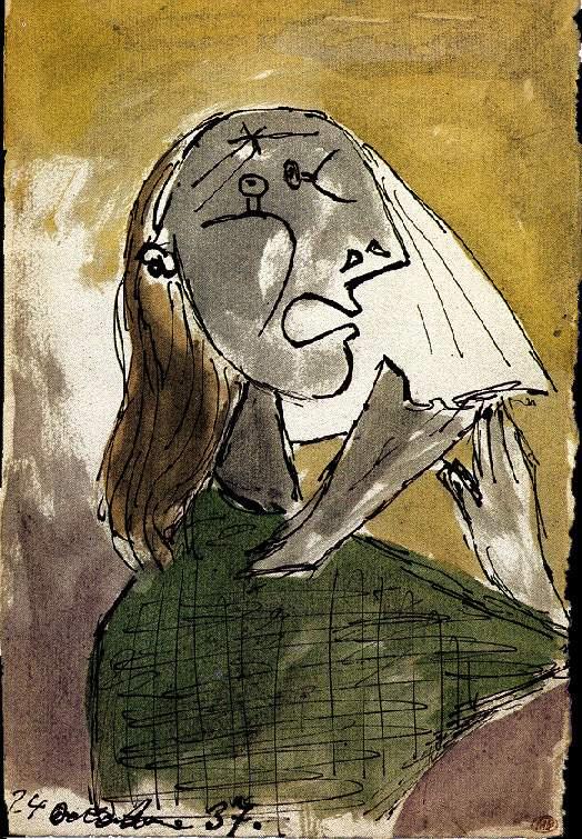 Пабло Пикассо. Плачущая женщина