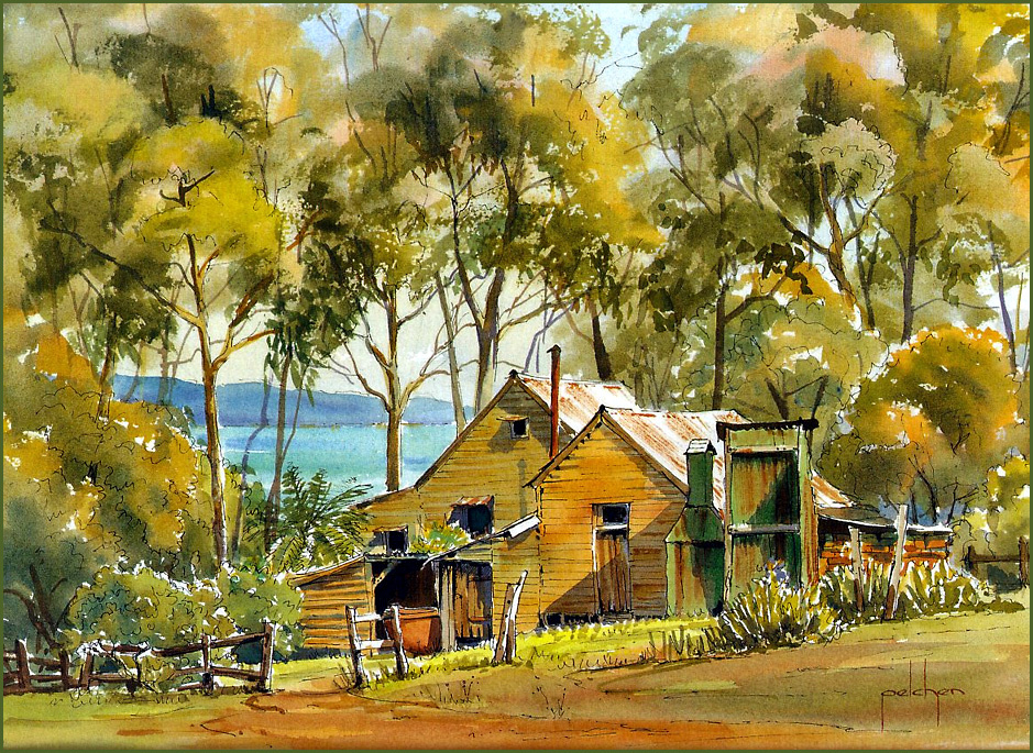 Bob Pelchen. Cottages