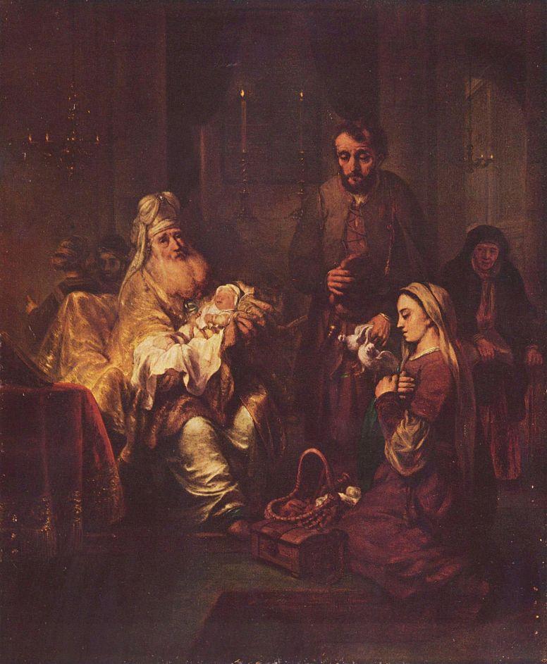 Гербрандт ван ден Экхаут. Принесение во храм