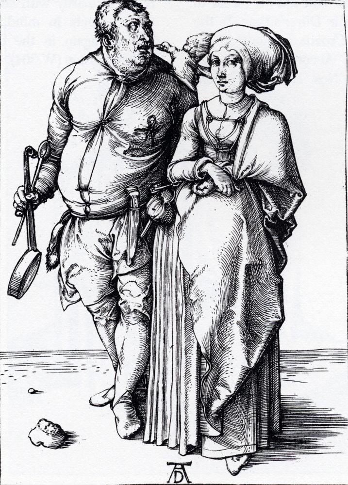Альбрехт Дюрер. Повар с женой