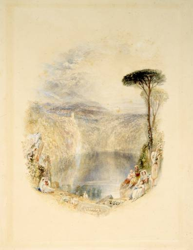 Joseph Mallord William Turner. Lake Nemi