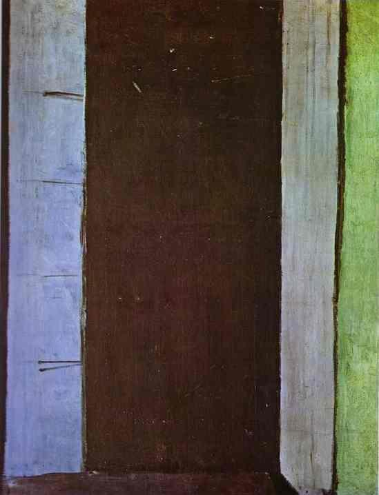 Henri Matisse. French window at Collioure