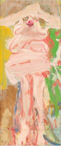 Willem de Kuning. Woman in hat