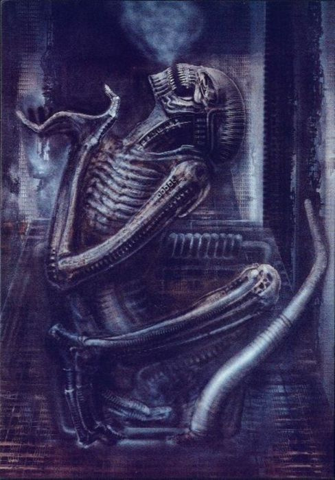 Hans Rudolph Giger. DEATH IN A MOUSETRAP
