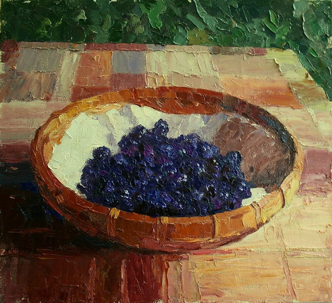 Mikhail Rudnik. BlackBerry garden