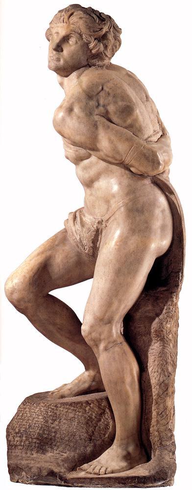Микеланджело Буонарроти. Ввоставший раб