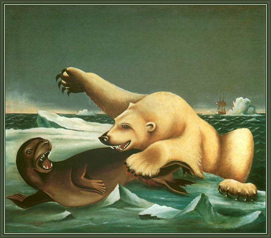 Чарльз Роли. Медведь и жертва