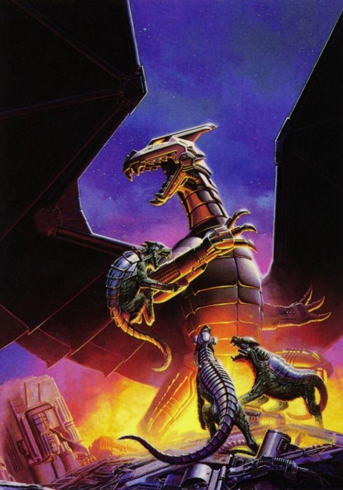 Кит Паркинсон. Механические драконы