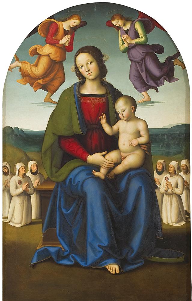 Pietro Perugino. Madonna of consolation