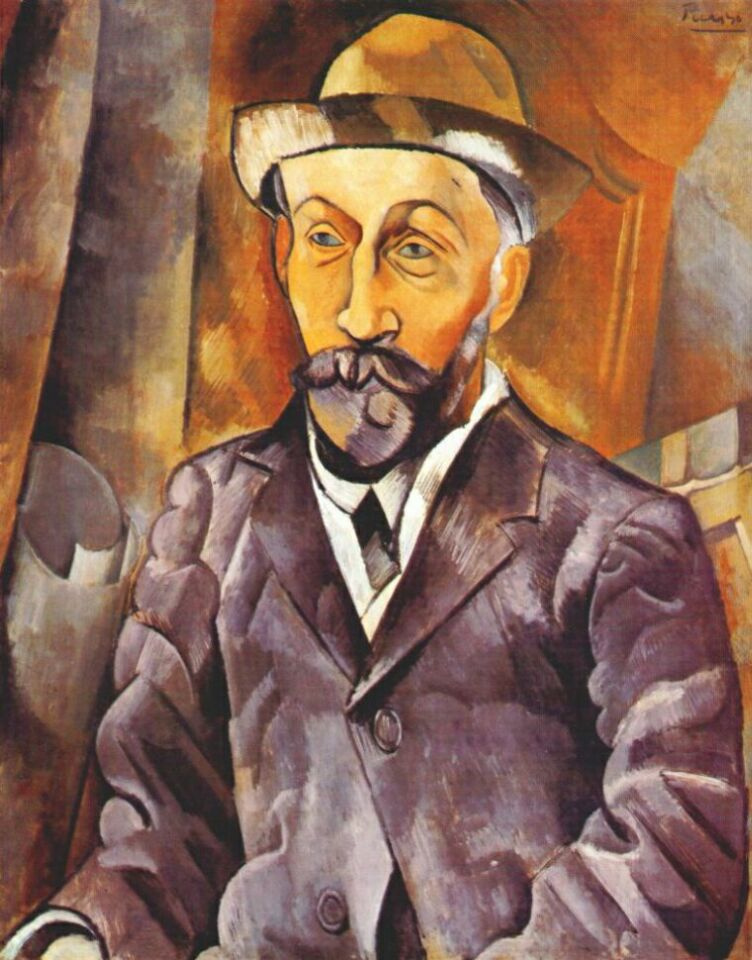 Пабло Пикассо. Портрет Кловиса Сагота