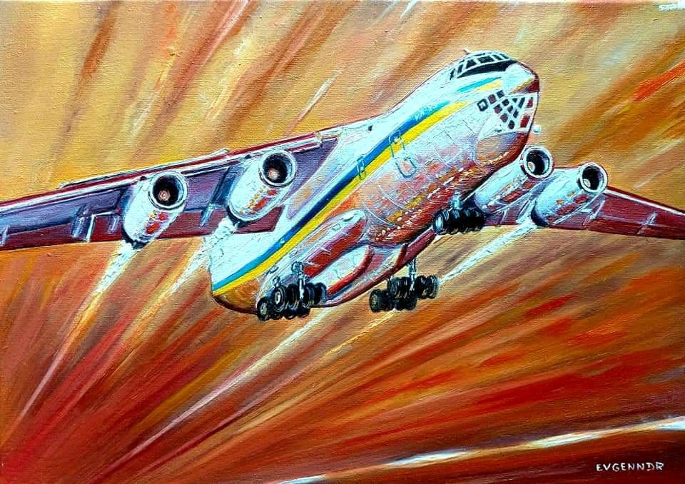 """Aviation Art. """"Flight"""""""